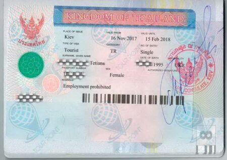 Виза в Таиланд картинка