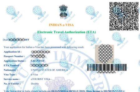 Электронная виза в Индиюфото