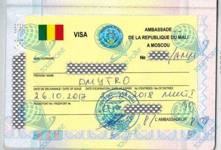Виза в Мали фото