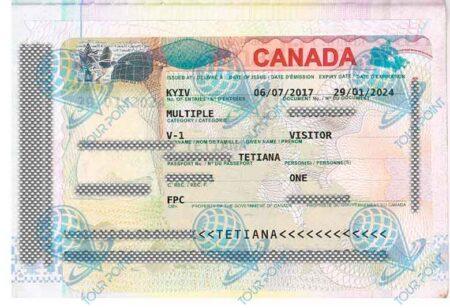 Виза в Канаду картинка