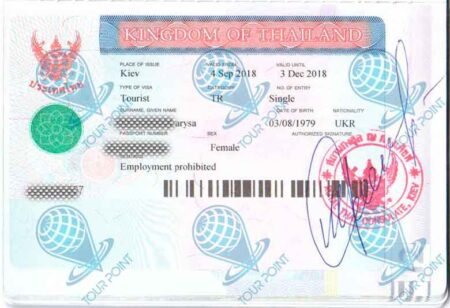Виза в Таиланддля граждан Украины картинка