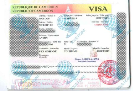 Виза в Камерун фото