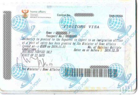 Виза в Южную Африку картинка