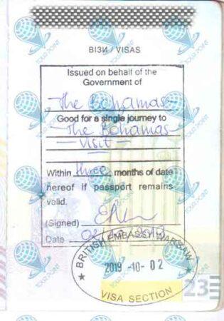 Виза на Багамские острова фото