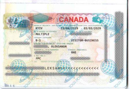 Виза в Канаду для украинцев фото
