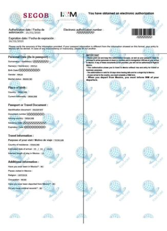 Виза в Мексику для граждан Украины фото
