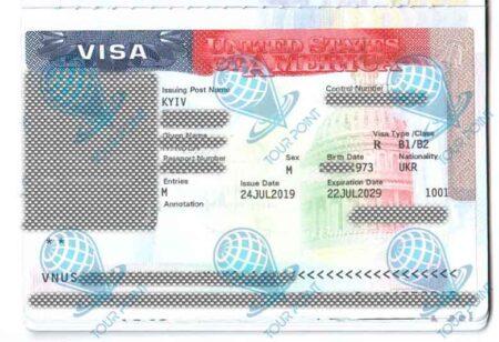 Виза в Америку для граждан Украины фото