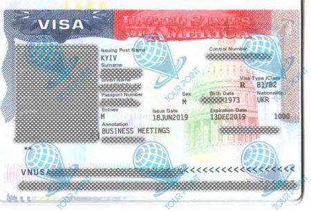 Виза в США для граждан Украины фото