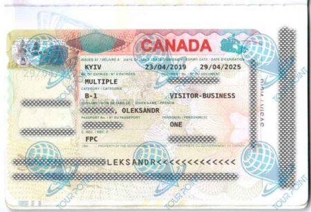 Виза в Канаду для граждан Украины фото