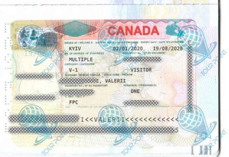Виза в Канаду фото