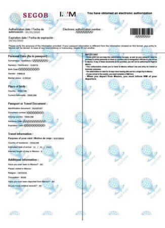 Виза в Мексику для украинцев фото