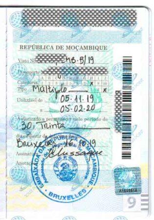 Виза в Мозамбик для украинцев фото
