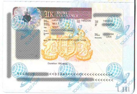 Виза в Великобританию фото