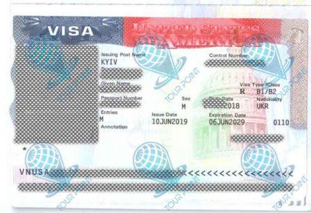 Виза в Америку фото
