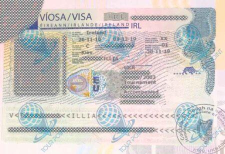 Виза в Ирландию для граждан Украины фото