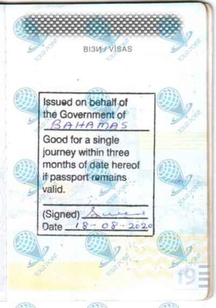 Виза на Багамы для граждан Украины фото
