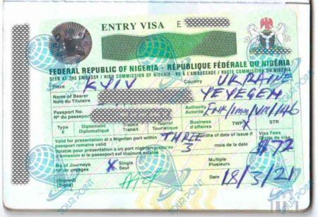 Рабочая Виза в Нигерию изображение