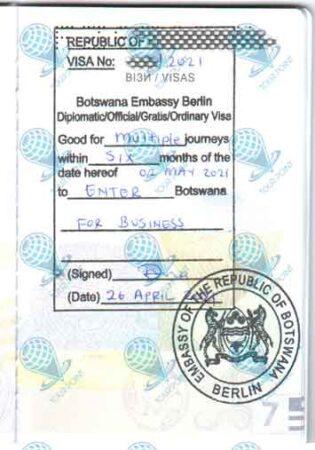 Виза в Ботсвану для украинцев картинка