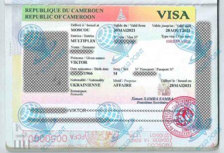 Виза в Камерун для украинцев картинка